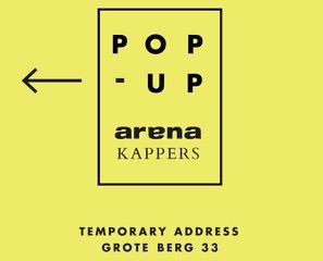 Arenakappers Popup Salon